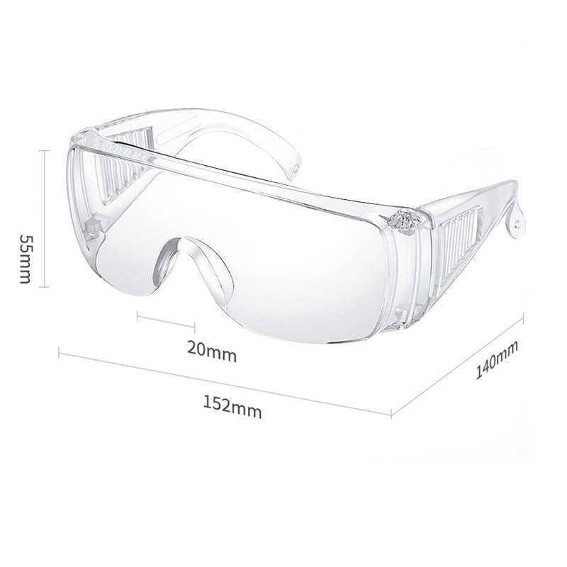 dust-proof and Splash proof Wholesale safety helmet protective glasses goggles fashion